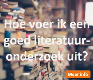 Afstudeergoeroes.nl - Goed literatuuronderzoek uitvoeren